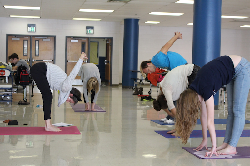 Jarrett Reaches Out To Yoga Enthusiasts
