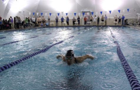 Swim Team Races to States