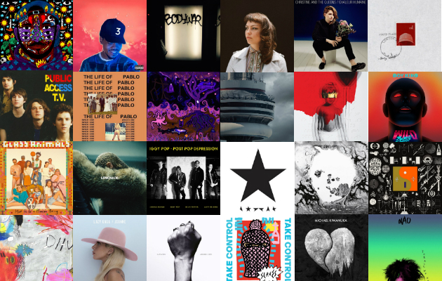 2016 Albums And Songs Of The Year