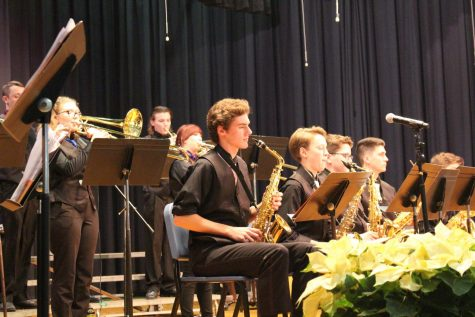 Band performs in winter concert