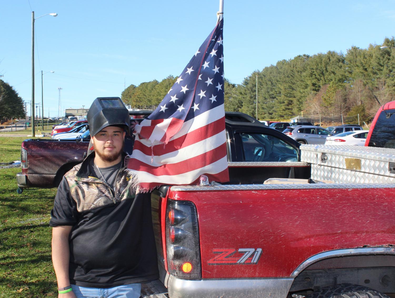 Senior Dawson Taylor heads to welding school