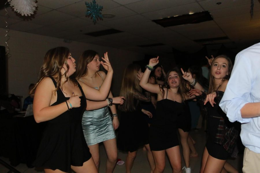 SCA Hosts the Snowball Dance