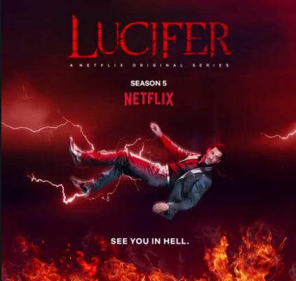 Lucifer Seasons Five's Teaser, found on the show's Instagram.
