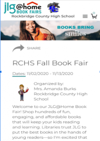 The RCHS Fall Book Fair can be shopped on the JLG website.