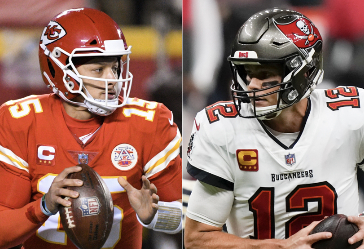 Mahomes and Brady Face Off in Super Bowl LV: A Before and After
