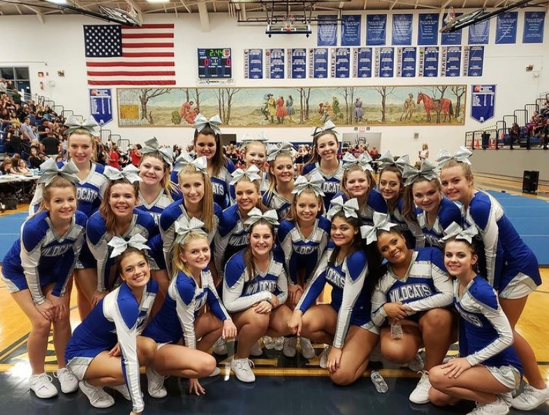 Competition Cheer Flies Into Action